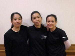 技能実習生(フィリピン)が勤務開始